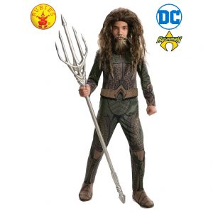 Aquaman Classic Costume Child - Justice League Aquaman Classic Costume Child