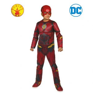 Flash Deluxe Costume Child - Justice League Flash Deluxe Costume Child