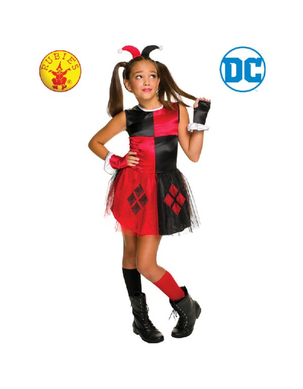 Justice League Harley Quinn Costume - DC Harley Quinn Costume