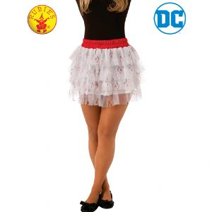 Harley Quinn Skirt with Sequins Teen