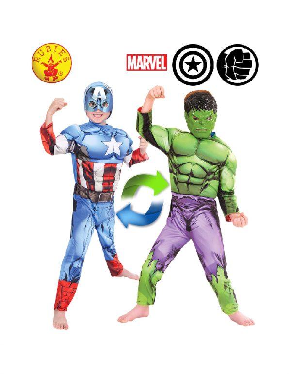 Hulk to Captain America Costume