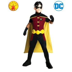 Robin Young Justice League Costume Child - Justice League Robin Young Costume