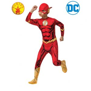 The Flash Classic Costume Child - Justice League The Flash Classic Costume