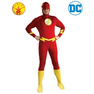 The Flash Costume Adult - Justice League Adult The Flash Costume