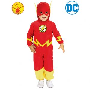 Justice League Baby The Flash Costume - Baby The Flash Jumpsuit