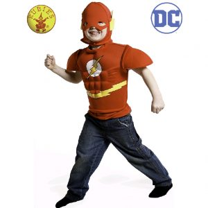 Justice League The Flash Eva Dress Up - Kids The Flash Costume