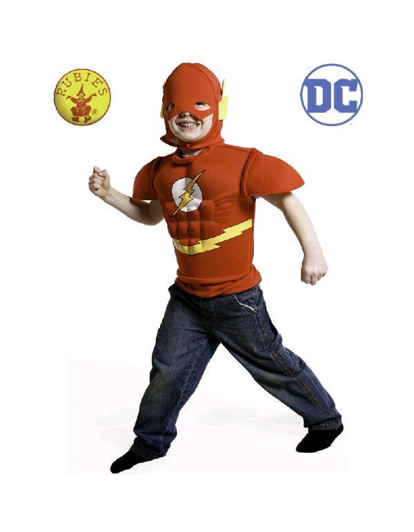 Justice League The Flash Eva Dress Up - Kids The Flash Costume