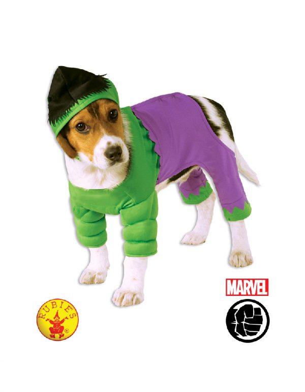 The Hulk Pet Dog Costume