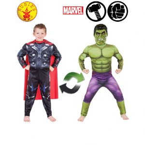 Thor to Hulk Reversible Costume