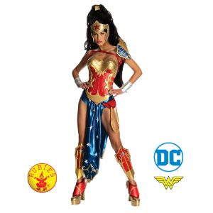 Wonder Woman Anime Secret Wishes Costume Adult