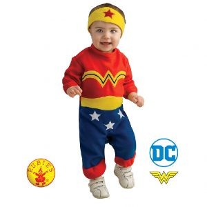 Wonder Woman Costume Baby - Baby Wonder Woman Onesie Romper