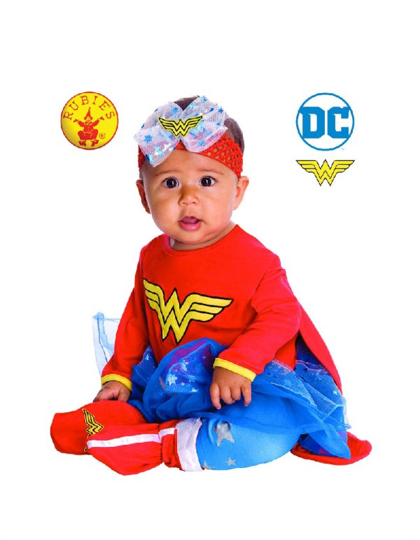Wonder Woman Costume Baby - Baby Wonder Woman Onesie