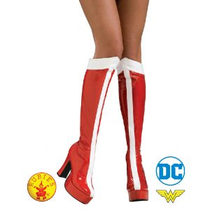 Wonder Woman Boots Adult