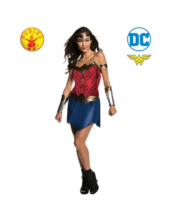 Wonder Woman Costume Adult - DC Heroes Adult Wonder Woman Costume