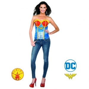 Wonder Woman Corset Adult