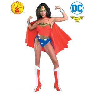Wonder Woman Costume Adult - DC Heroes Adult Wonder Woman Costume