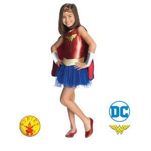 Wonder Woman Costume Child - Justice League Wonder Woman Costume