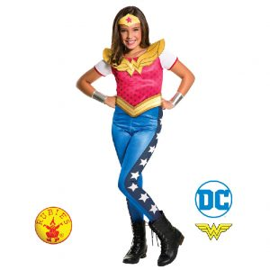 Wonder Woman DC Superhero Girls Classic Child - Justice League Wonder Woman DC Heroes Girls Classic
