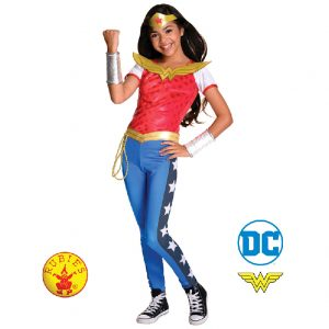Wonder Woman DC Superhero Girls Deluxe Child - Justice League Wonder Woman DC Superhero Girls Deluxe Child
