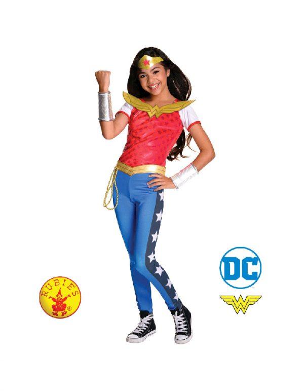 Wonder Woman DC Superhero Girls Deluxe Child - Justice League Wonder Woman DC Superhero Girls Deluxe Child