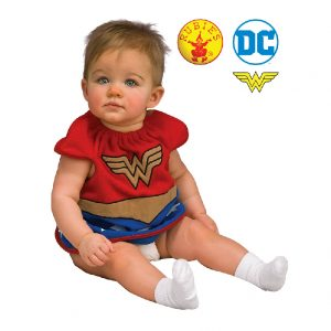 Wonder Woman Deluxe Baby Bib