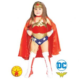 Wonder Woman Deluxe Costume Toddler Child - Justice League Wonder Woman Deluxe Costume