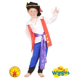 The Wiggles Costume - Captain FeatherSword Costume Child