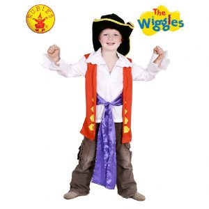 The Wiggles Costume - Captain FeatherSword Dress up Set Child