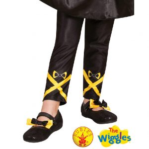 The Wiggles Costume - Emma Wiggle Footless Tights