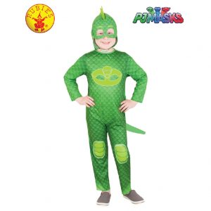 PJ Masks Costume - Gekko Glow in the Dark Costume Child
