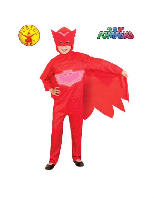 PJ Masks Costume - Owlette Glow in the Dark Costume Child