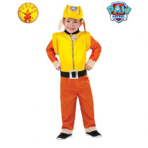Paw Patrol Costume - Rubble Paw Patrol Costume Toddler Child