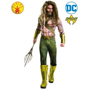 Aquaman Costume - Aquaman Deluxe Costume Adult