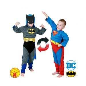 Batman to Superman Reversible Costume Child