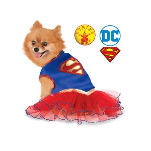 Supergirl Dog Costume