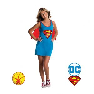 Supergirl Tank Dress