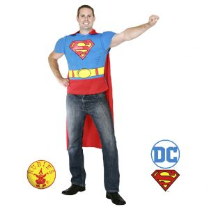 Superman Costume Top - Superman Costume Set
