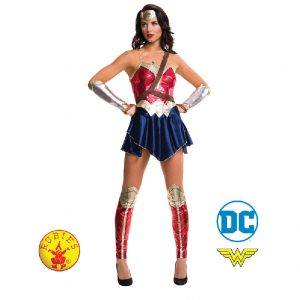 Wonder Woman Costume - Wonder Woman Deluxe Costume Adult