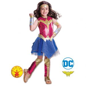 Wonder Woman Costume - Kids Wonder Woman Costume