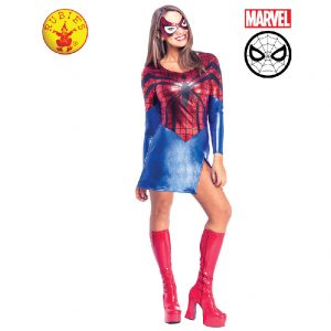 Spider-Girl Dress - Spider-Man Costume