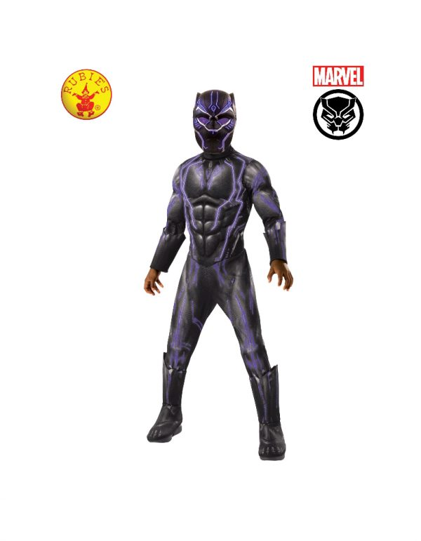 Black Panther Super Deluxe Battle Costume Child