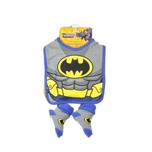 Batman Baby BIb & Booties Set