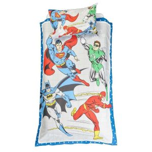 Justice League Quilt Cover Set - Double