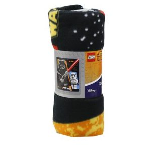Lego Star Wars Polar Fleece Throw Blanket