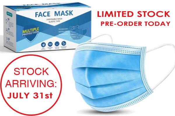 Face Masks - Disposable Face Masks